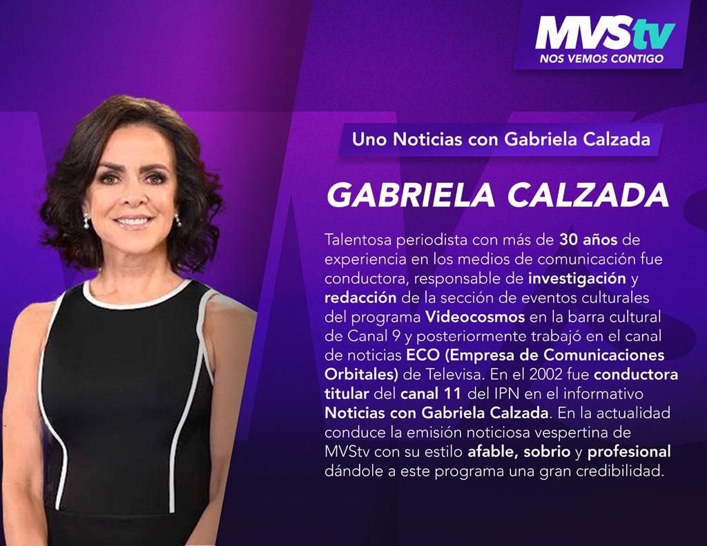 Uno Noticias - Gabriela Calzada