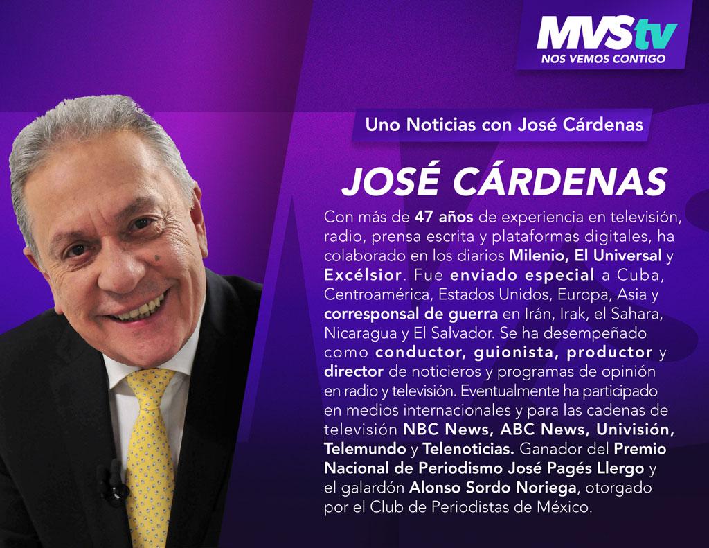 Uno noticias - José Cárdenas